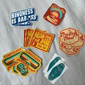 Dutch Bros Sticker Variety Bundles